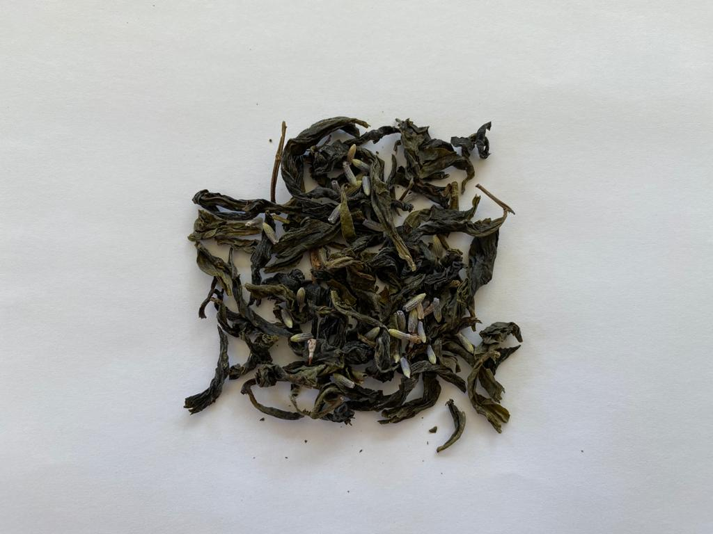 lavender earl grey oolong tea
