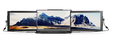 Mobile Pixels Trio Monitor for laptops as dual triple screens