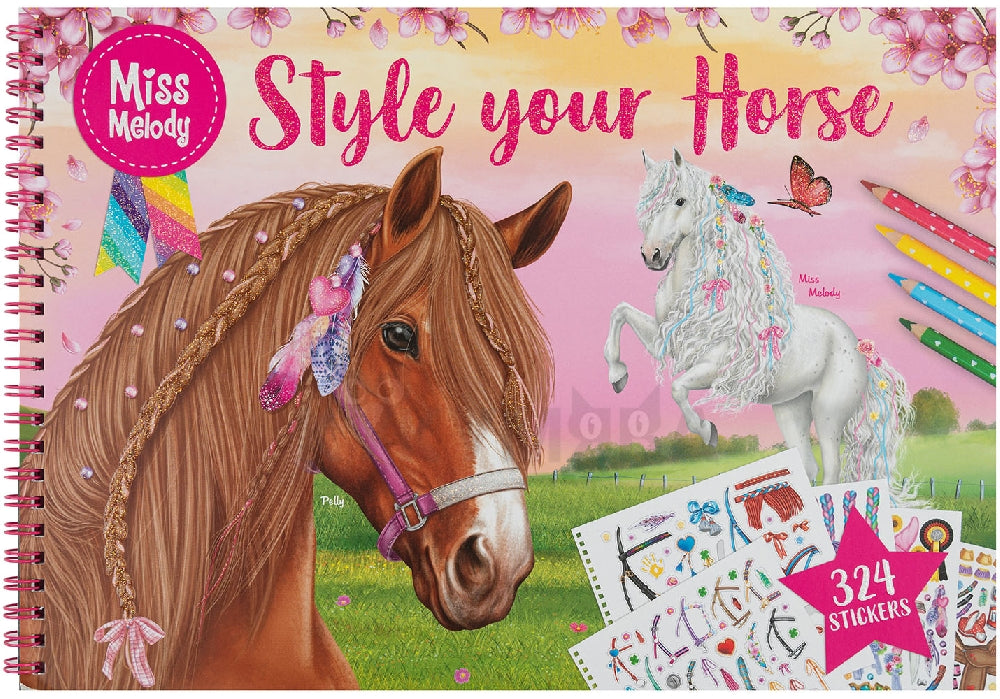 Libro Miss Melody Style Horses