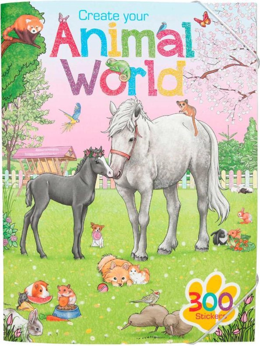 Create Your Animal Worlde Stickers