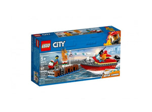 Lego Dock Side Fire