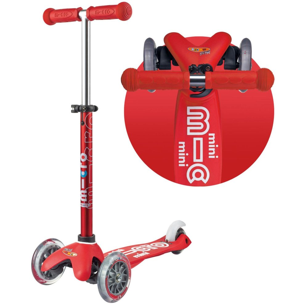 Scooter Mini De Luxe Rojo