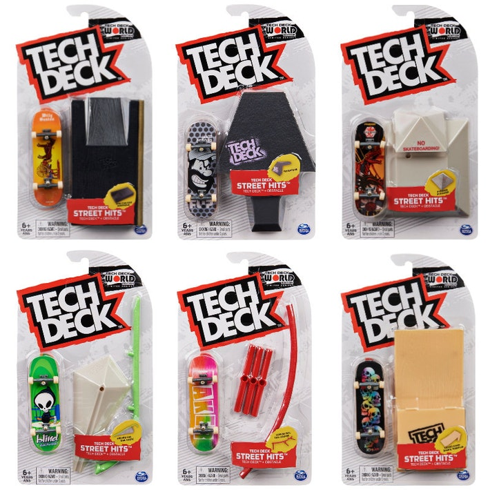 Tech Deck Obstaculos