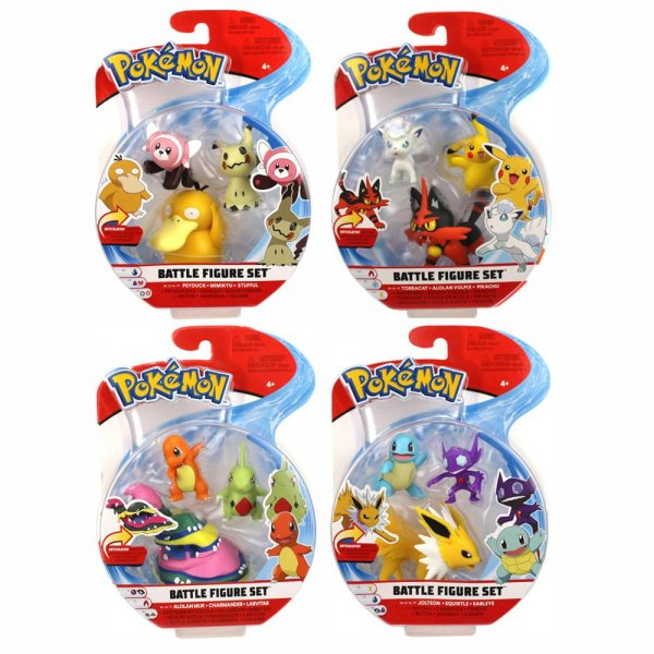 Pack 3 Figuras Pokemon