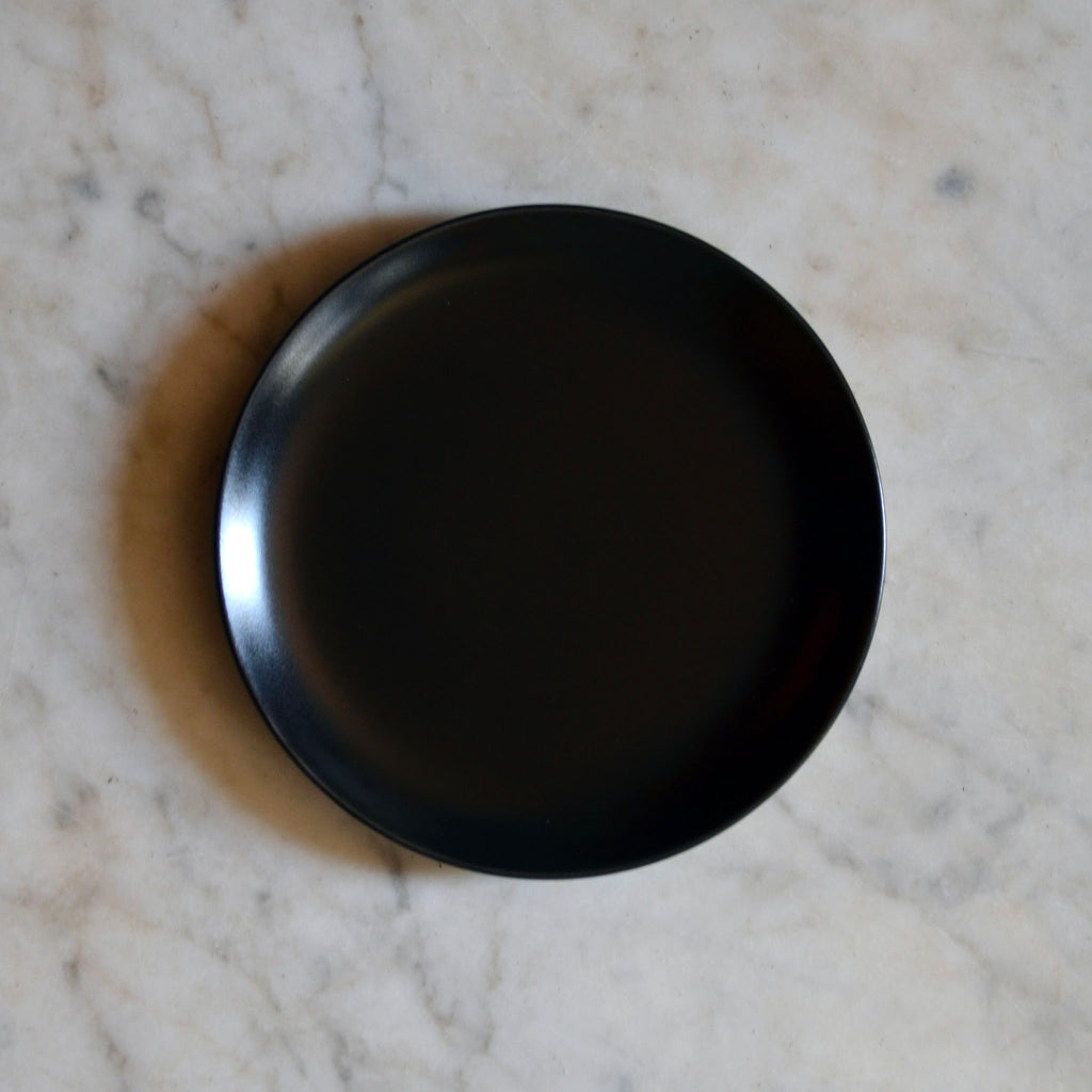 Matt Black Side Plate