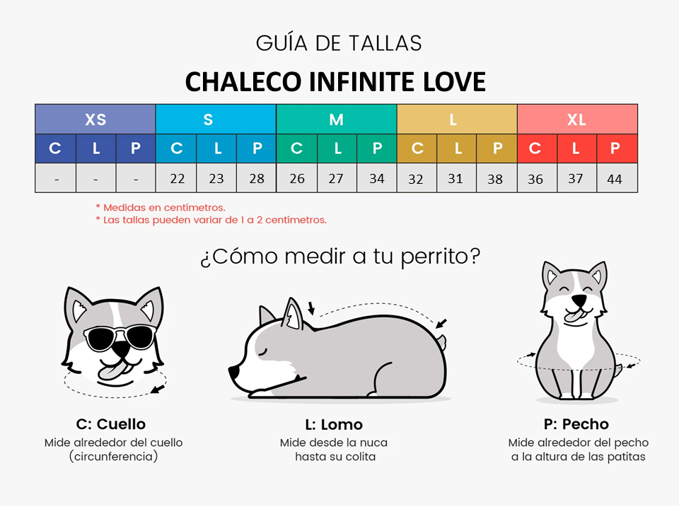 CHALECO INFINITE LOVE
