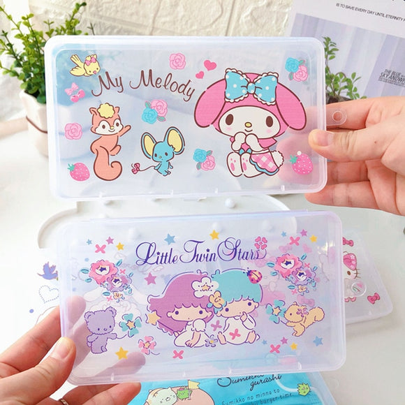 Cute Portable Face Masks Organizer - Dust-proof and Moisture-Proof Cover