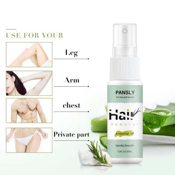 Permanant Hair Removal Inhibitor Spray