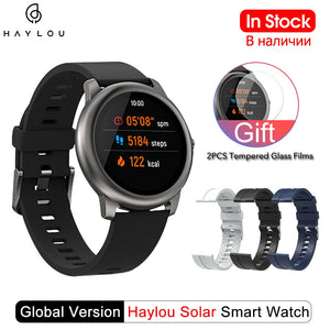 Haylou Solar Smartwatch Global Version - IP68 Waterproof - US ONLY!