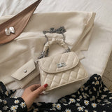 Fashion Lady Handbag With Purse