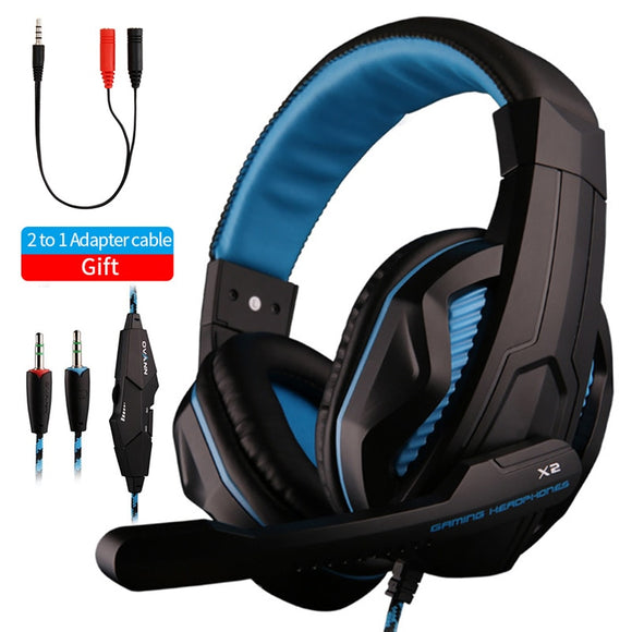 X2 Noise Cancelling Gaming Headset With Microphone
