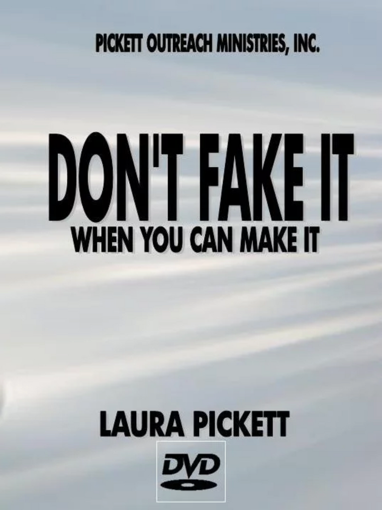 Don't Fake It, When you Can Make It (DVD)