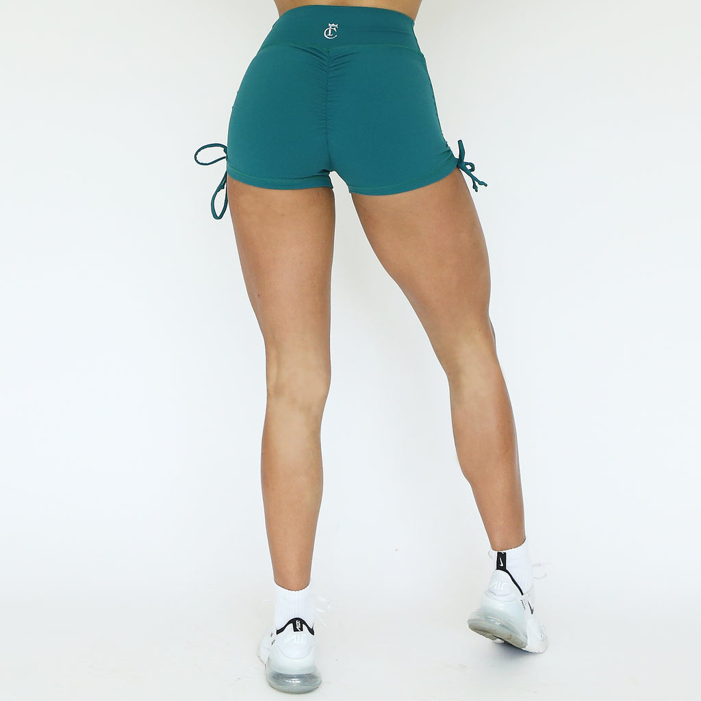 Booty Shorts - Emerald Green