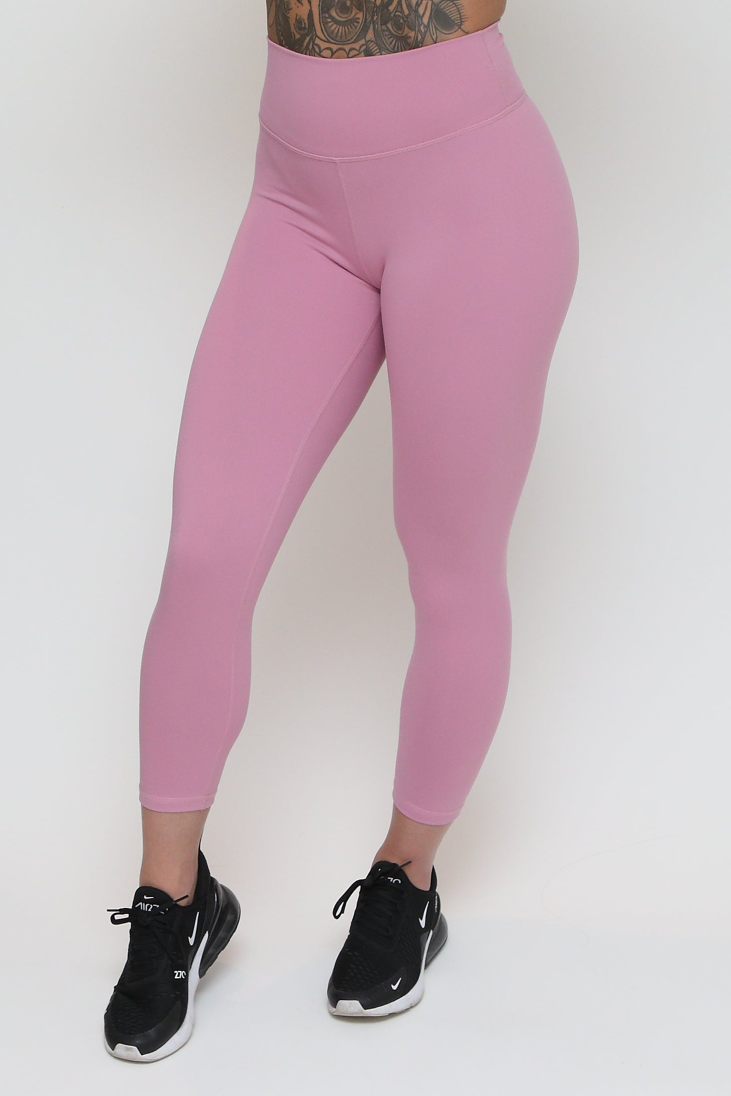 7/8 Scrunch Tights - Pink
