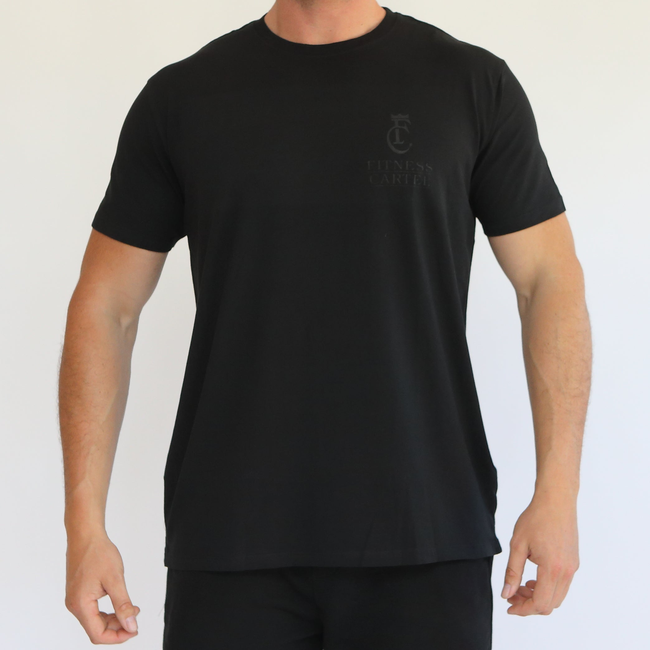 The Cartel T-Shirt - Black on Black