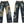 Load image into Gallery viewer, Karakuri-Tamashii Men's Embroidered Jeans Japanese Dragon Tattoo Pants 293230 Faded Blue
