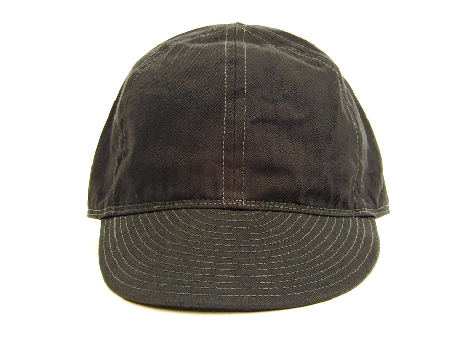Buzz Rickson William Gibson Men's Army Cap Type A-3 Black Military Hat BR02519 Black