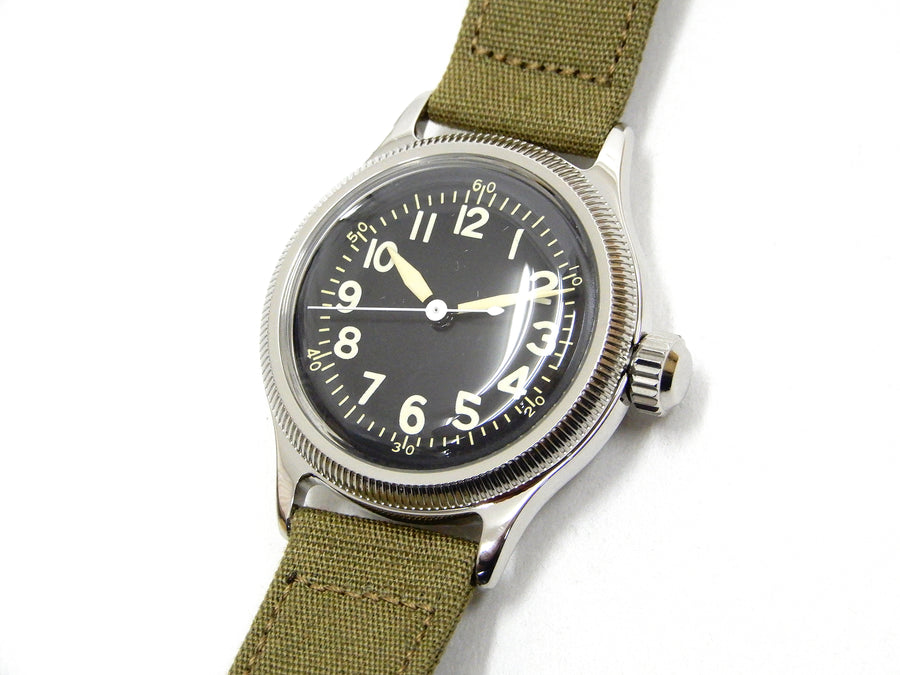 Buzz Rickson Mens Wristwatch Reproduction Type A-11 Military Wrist Watch BR02613