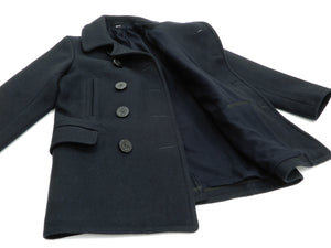 Buzz Rickson Pea Coat Men's U.S. Navy Wool Above-knee length Peacoat BR14146
