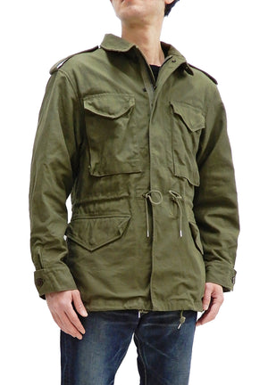 Buzz Rickson M-1951 Field Jacket Men's A Reproduction of US Army M-51 BR14827 Olive