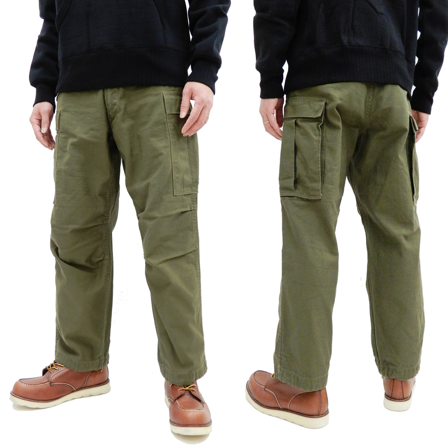 Buzz Rickson Cargo Pants Men's US Army Korean War M-1951 Field Trouser BR41962 Olive