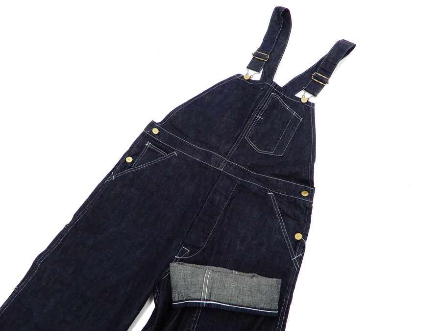 Headlight Overalls Men's Denim Bib Overall Suspender Back Low-Back HD41930