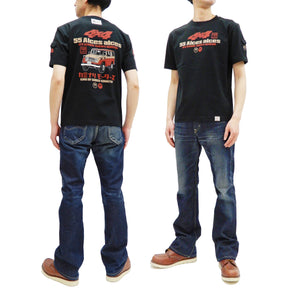 Kaminari T-Shirt Men's Classic Japanese Car Graphic Short Sleeve Tee KMT-219 Black