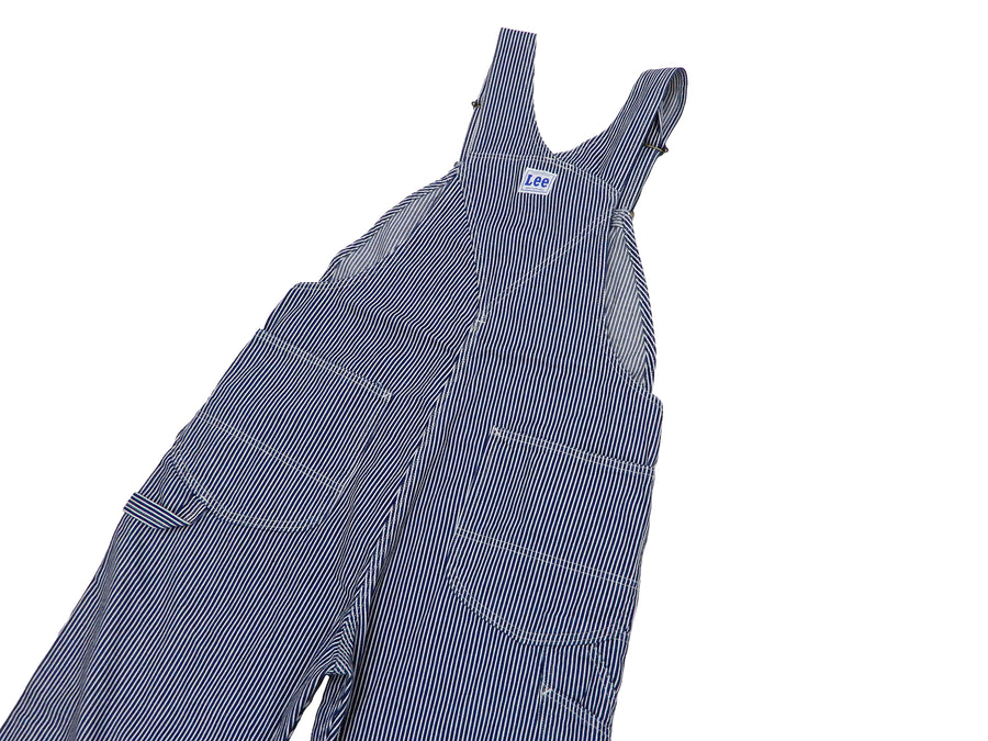 Lee Overalls Men's Casual Fashion Hickory Stripe Bib Overall High-Back LM7254 LM7254-1104