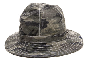 Pherrow's Boonie Hat Men's Short Brim Sun Hat with Adjustable Chin Strap PJH1 Camouflage
