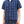 Load image into Gallery viewer, Sugar Cane Men's Dobby Plaid Short Sleeve Casual Button Up Checked Shirt SC38456 Navy-Blue