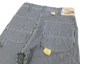 Sugar Cane Painter Pants Men's Casual Hickory Stripe Work Painters Jeans SC41823