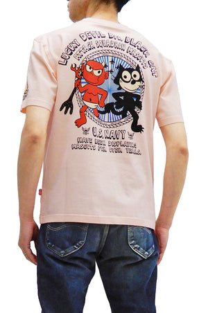 Tedman T-Shirt Men's Lucky Devil Graphic Short Sleeve Tee TDSS-526