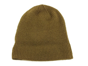 TOYS McCOY Men's Watch Cap Red Cross Military Wool Knit Winter Hat TMA1633 Olive