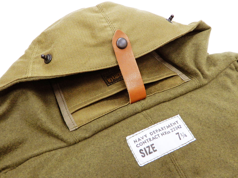 TOYS McCOY Small Shoulder Bag USN Men's Casual Military Style Deck Bag TMA1918 Khaki