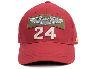 TOYS McCOY Cap Men's Military Style Cotton Herringbone Twill Hat TMA2005 Red