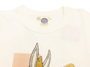 TOYS McCOY Men's Slim fit Short Sleeve T-shirt Bugs Bunny Military Tee TMC1815 Off-White
