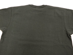 TOYS McCOY T-shirt Men's Short Sleeve Branded Logo Loop-wheeled Tee TMC1936 Faded-Black