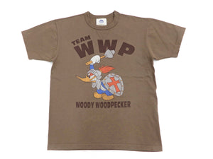 TOYS McCOY T-shirt Men's Woody Woodpecker Short Sleeve Loop-wheeled Tee TMC2004 Coyote-Brown