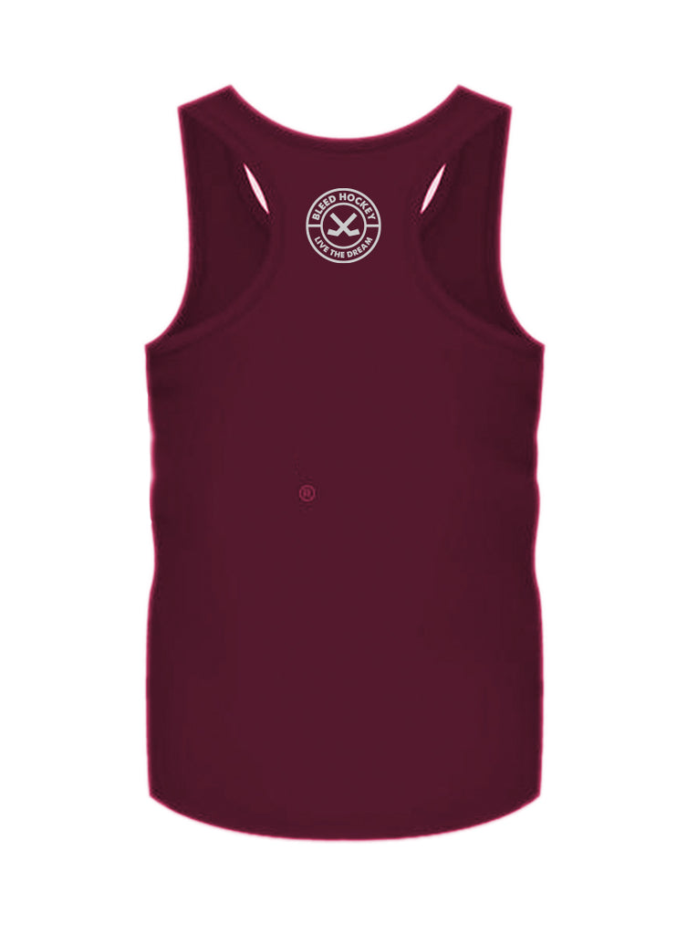 Built in the Rockies Tank Cranberry_M