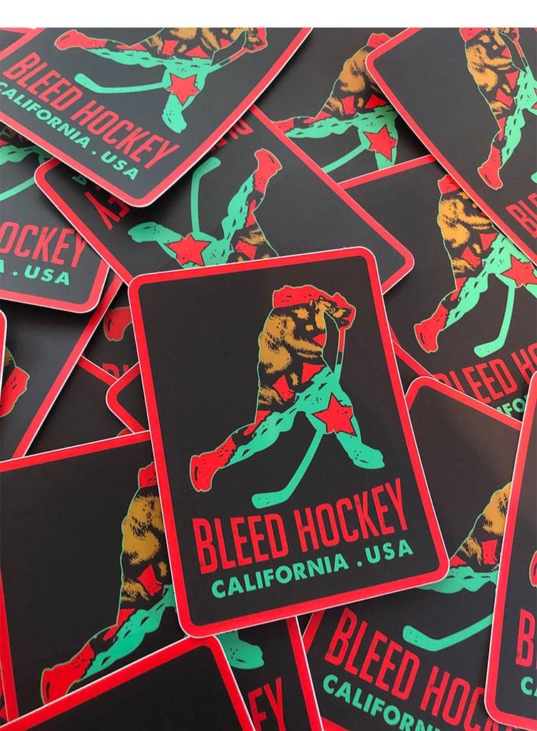 California Player Sticker