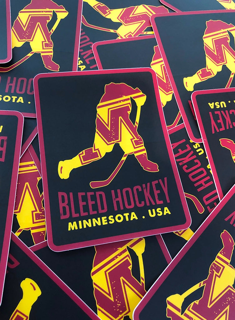 Minnesota Player Sticker