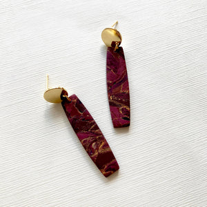 Evelyn in Winter Stone: Oxblood