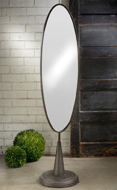 X-RAGE INDUSTRIAL OVAL MIRROR