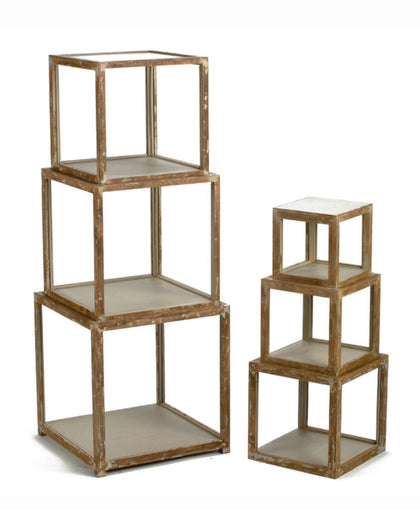 Stack Cube Risers - Set of 6