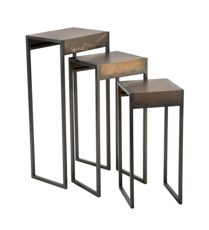 Metal Side Table - Set of 3