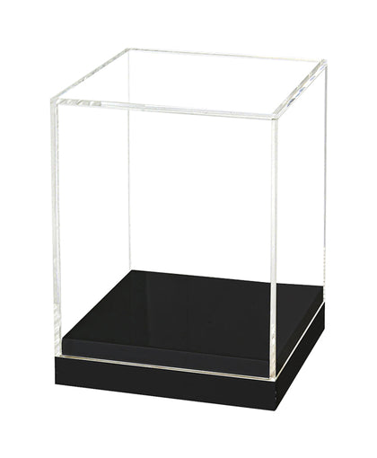 1 Open Ended Acrylic Display Square 12 Inch Height, Base Diameter 12 Inch