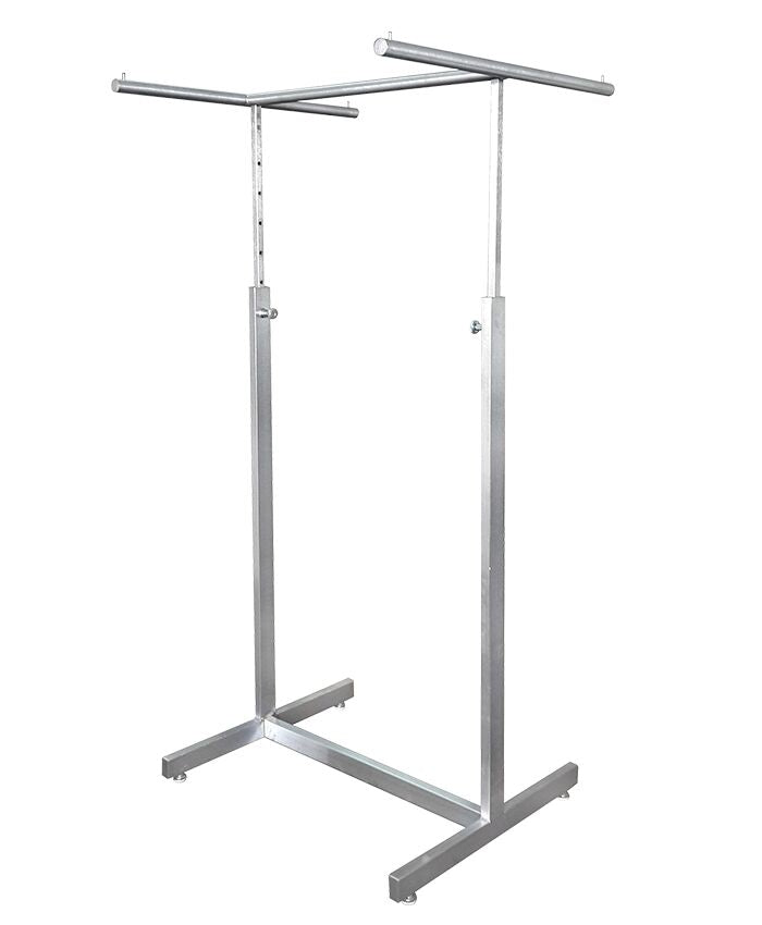 4-Way Ballet Bar Rack -  Satin Chrome