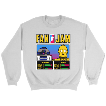R2D2/C-3PO Fan Jam - Hoodie and Sweatshirt