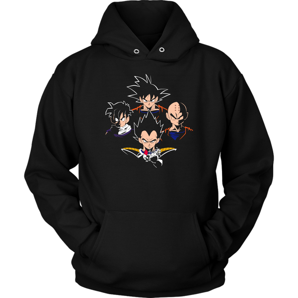 Bohemian 9000 - Over 9000 Unisex Hoodies and Sweatshirts