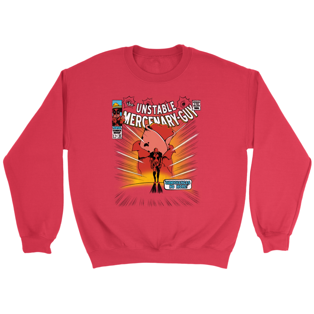 Unstable Mercenary Guy - Best Sellers Unisex Hoodies and Sweatshirts